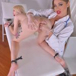 Dominatrix Nurse starring Arteya D & Angelica Heart