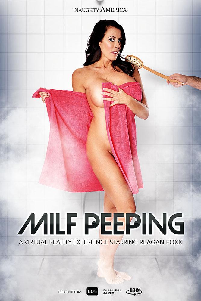 """Milf Peeping"" starring Reagan Foxx"