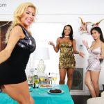 New Year's Treats Part 1 Alexis Fawx, Harley Dean, Jade Kush