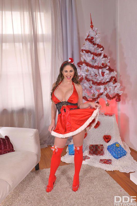 Stuffing Mrs. Santa Cathy Heaven