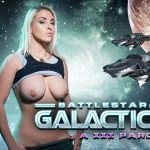 Battlestar Galactica A XXX Parody Victoria Summers virtual reality porn