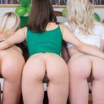 Czech VR 199 - St. Patrick's Awesome Foursome Billie Star, Lola Myluv, Natalie Cherie