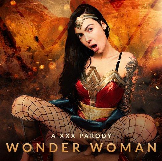 Wonder Woman XXX featuring Marley Brinx vr porn