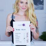 Czech VR Casting 089 - Tattooed Blonde at VR Casting Misha Cross vr porn