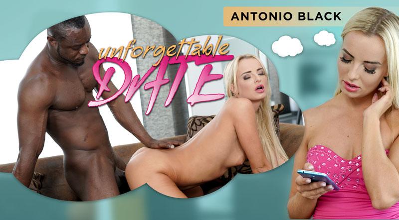 Unforgettable Date Victoria Pure, Antonio Black VR Porn