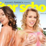 """""""After School"""" featuring Zoey Monroe and Jade Nile vr porn"""