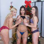 Czech VR 255 - Special Gifts Alyssa Reece, Cherry Kiss, Heidi Van Horny vr porn