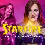 Starfire A XXX Parody Alexxa Vice vr porn