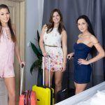 Czech VR 256 - Three Horny Travelers Cindy Shine, Jenifer Jane, Nicole Love vr porn