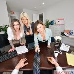 The Big Tits Office Bridgette B., Karma Rx, Krissy Lynn vr porn