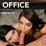 """The Office"" featuring Emily Willis and Sadie Blake VR Porn"