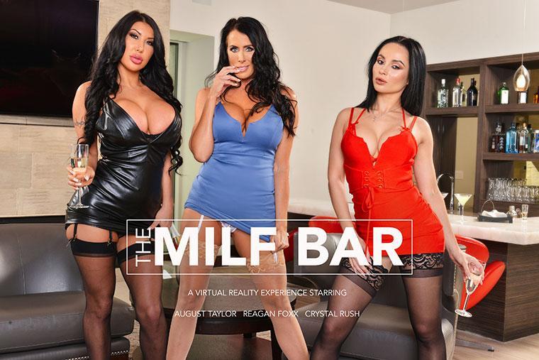 The MILF Bar August Taylor, Crystal Rush, Reagan Foxx vr porn