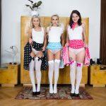 Czech VR 273 - Retro Photo Session Elena Vega, Emma Button, Lola Myluv vr porn