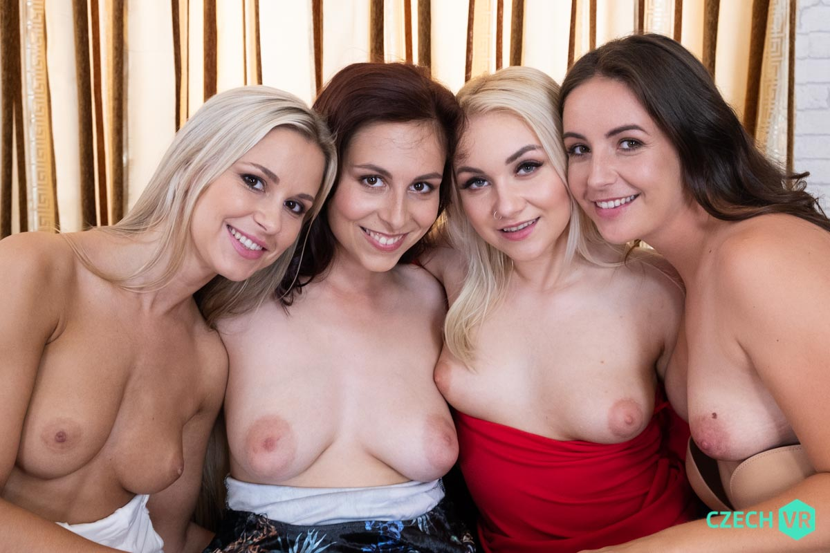 Antonia Sainz, Lenna Ross, Lola Myluv, Marilyn Sugar VRPorn