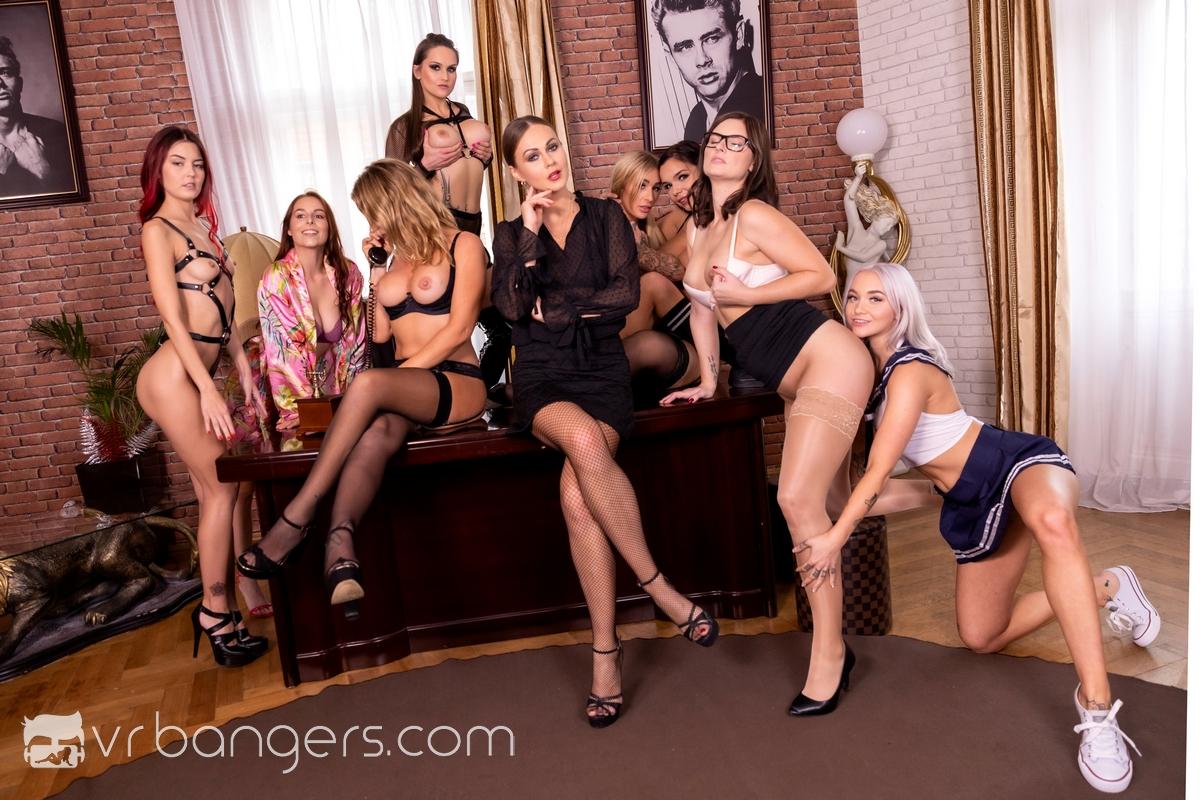 Tina Kay & Jenifer Jane & Antonia Sainz & Barbara Bieber & Cindy Shine & Daisy Lee & Sofia Lee & Leidy De Leon & Marilyn Sugar VRPorn