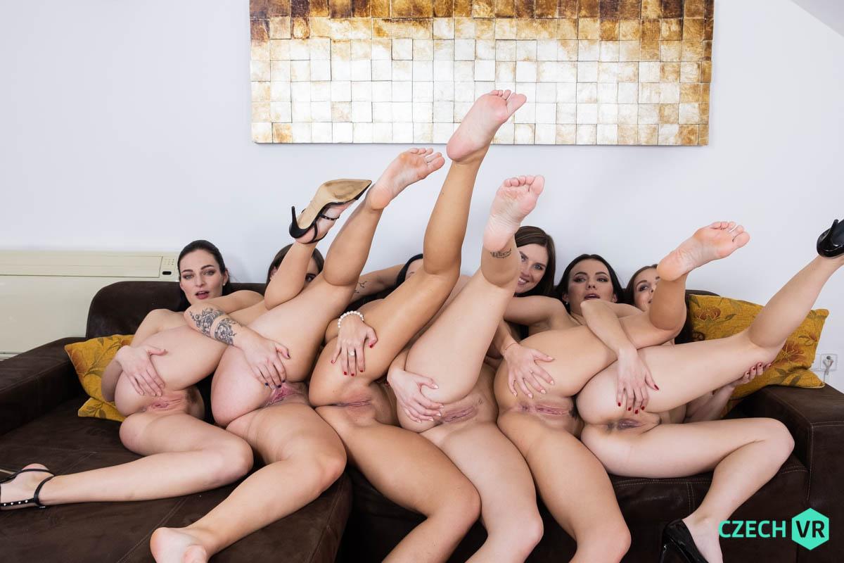 Antonia Sainz & Jenifer Jane & Julia Parker & Leanne Lace & Taylor Wood & Vanessa Decker VRPorn