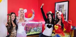 Billie Star & Lady Gang & Venera Maxima & Zuzu Sweet VRPorn