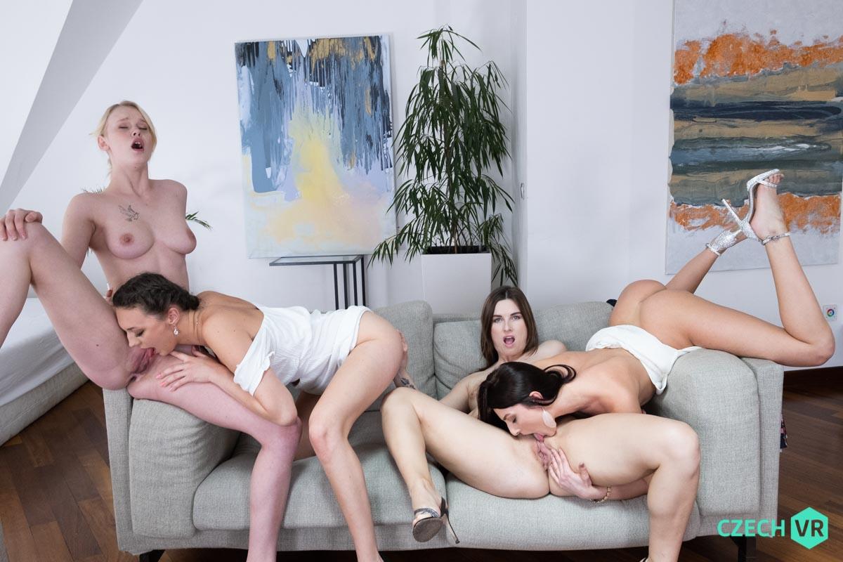 Katy Rose & Jenifer Jane & Isabella De Laa & Ariela Donovan VRPorn