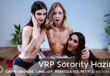 Capri Lmonde & Rebecca Volpetti & Lina Joy VRPorn