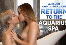 Jamie Jett & Anna Claire Clounds VRPorn