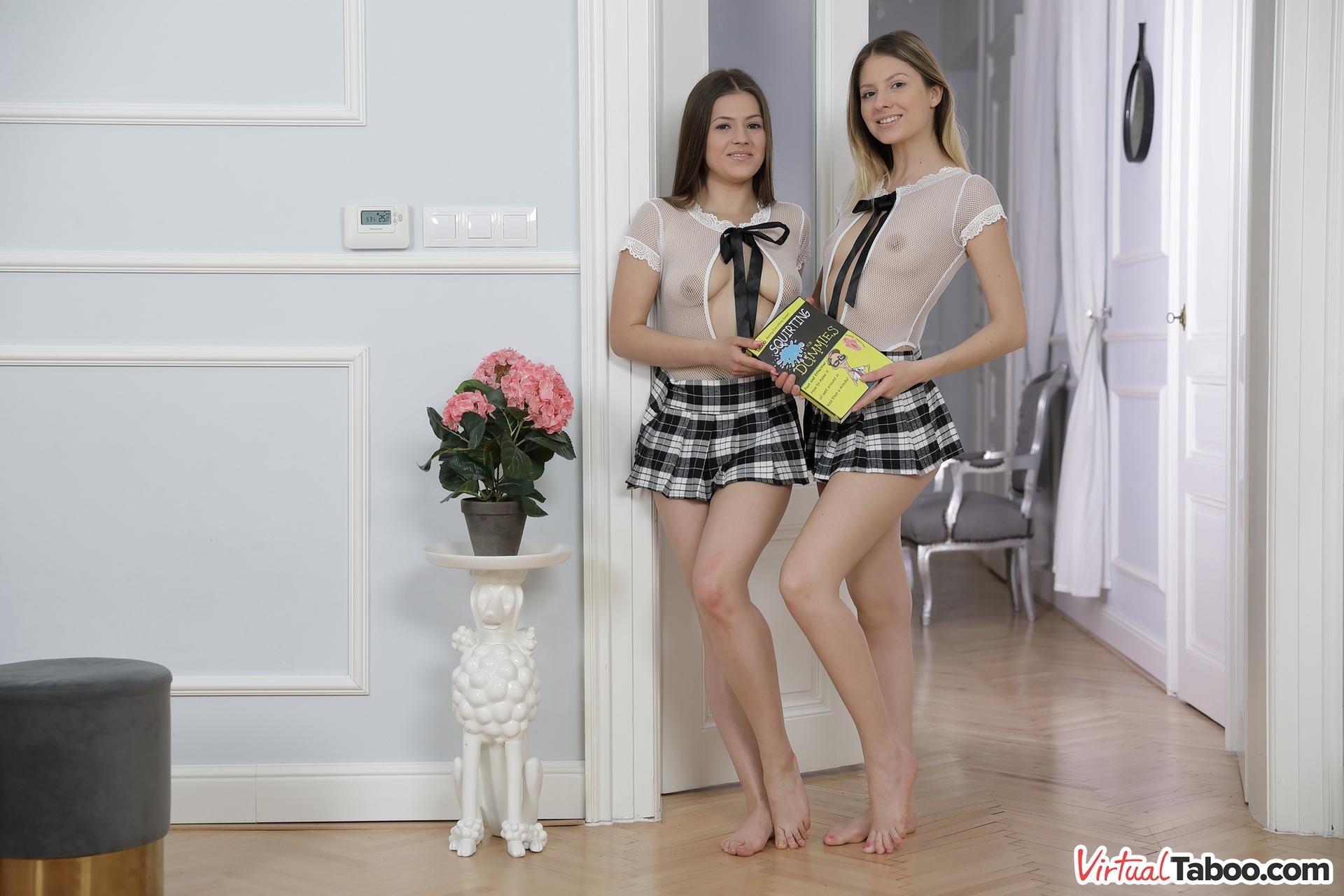Rebecca Volpetti & Sereyna Gomez VRPorn