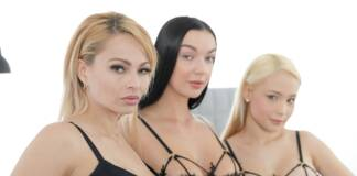 VirtualTaboo Big Titty Club - Dominno & Lady Gang & Natasha Teen VRPorn
