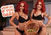 18VR - Join Us If You Dare - Little Eliss & Jennifer Mendez VRPorn
