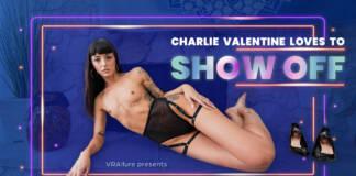 VRAllure - Charlie Loves To Show Off - Charlie Valentine VR Porn